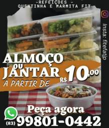 Almoço 10 reais