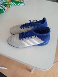 Chuteira Society Adidas Predator 19.3 TF número 33