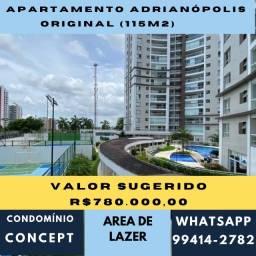 Apartamento Adrianópolis - Concept