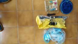 Kit de pesca molinete e outros
