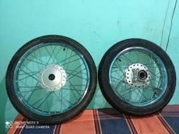 Roda raiada POP 110