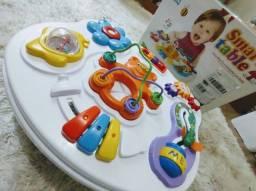 Mesa pedagógica para bebê