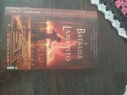 Livro Percy Jackson A Batalha no Labirinto