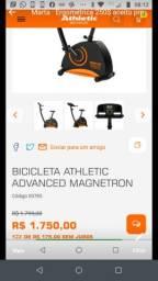Bicicleta ergométrica aceito proposta