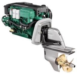 Motor Volvo Penta D4 225 HP Diesel Usado Completo