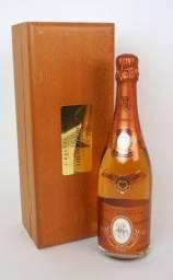 Garrafa Champagne CRISTAL Brut ROSE