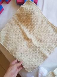 Manta de lã o gorro para ensaio fotografico
