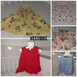 Roupas e calçados infantis usados ( femininos )