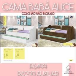 Título do anúncio: Cama baba alice/ cama babá-8383