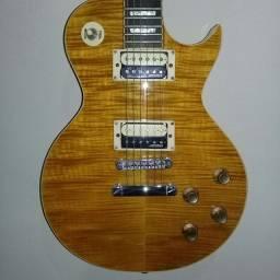 Guitarra Vintage Les Paul Paradise em ótimo estado e regulada.
