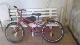 Bike com pouco tempo de uso