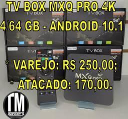 TV Box MXQ Pro 4K 4/64 GB (Atacado e Varejo)