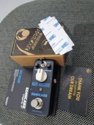 Mini pedal Blue Overdrive SONICAKE (chave 2 modos de Overdrive)