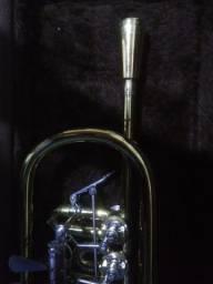 Trompete Rotor Weril Er4011 in C,  Profissional.
