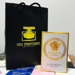 Título do anúncio: Perfume Versace Eros Pour Femme 50ml - Entregamos!!!