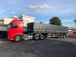 Caminhão FH460 e Carreta Randon Conjunto Engatado