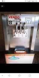 Maquina de sorvete com batedor de milk shake