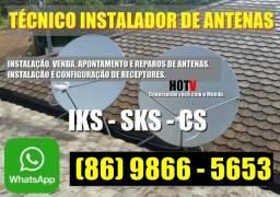 Antenista - Instalador de Antenas Sky, Claro, Oi e outros