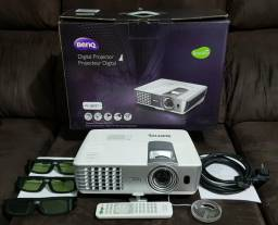 Projetor Datashow BenQ W1080ST+ Full HD 1080p 3D Short Throw 2200 Lumens Home Theater