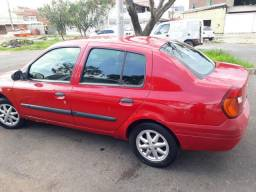 Clio Sedan RT 1.0 16v gas 02/03 - 2003
