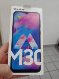 Samsung galaxy M 30 preto com apenas uma semana de uso e nota fiscal