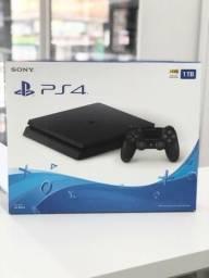 PS4 Slim Lacrado - Aceitamos cartão