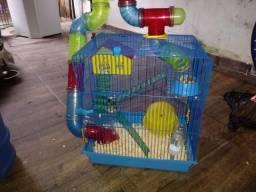 Vendo casa de hamster com hamster