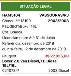 Peugeot boxer - 2003