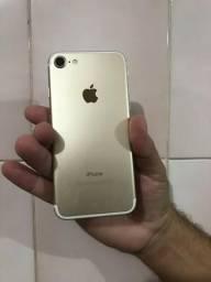 Iphone 7 dourado 32gb impecável