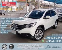 Branco Honda crv lx 4x2 2.0 16v flex aut 2012 UYT R$43600 42000km - 2012