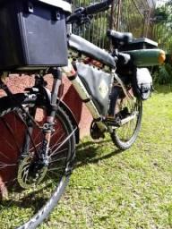 Bike 26 Vicini Preparada Para Viajar, Reforçada, Equipada.