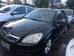 GM Vectra Elite 2.4 Completíssimo Preto + Teto + Couro - Financie Fácil Alex - 2006