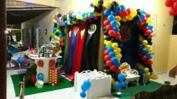 Fazemos Ornamentação De Balões Para Seu Evento,e Estabelecimento