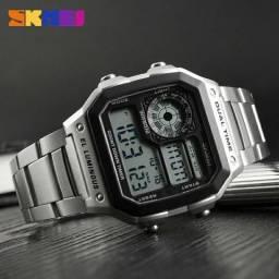 c89a7cf4ad0 Relógio digital inspirado no. casio Luxo!!! ORIGINAL.