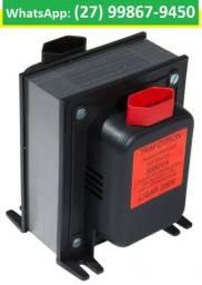 Transformador De Voltagem Bivolt 110v E 220v 3000va, Novos