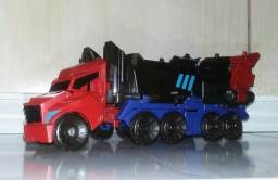 Boneco que vira carreta da Hasbro - Transformers