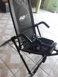 Ab fitness,cadeira para abdominal e bicicleta