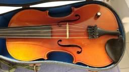 Violino / viola de 5 cordas acústico com captação elétrica