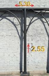 Garagem Estrutura Metálica Sombreador