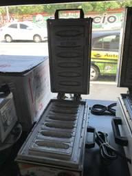 Maquina de crepe 6 cavidades NOVA