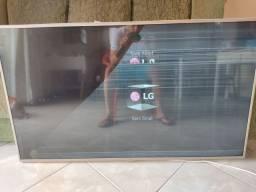 """Tv LG 55"""" com display quebrado"""