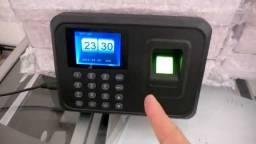 Relógio De Ponto Biométrico Impressão Digital Eletrônico