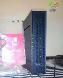 Internet fibra Wi-fi + Tv telecine +chip