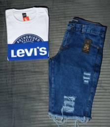 Kit camisa + Bermuda