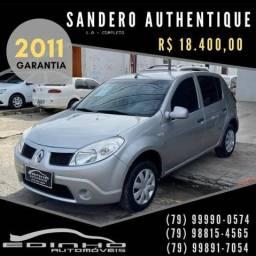 SANDERO 2011 1.0 COMPLETÃO o mais novo de ARACAJU - 2011
