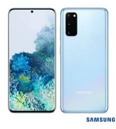 Samsung Galaxy S20 Azul, com Tela Infinita de 6,2, 4G, 128GB, Câmera Tripla de 64