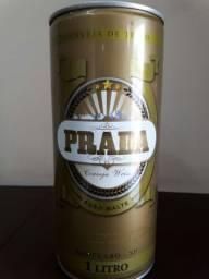 Lata 1 litro - Cerveja Prada Weiss