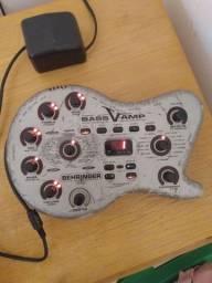 Venda/troca Pedaleira v-amp Bass (para baixo, violão e teclado