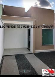 Casa a venda, Leo vende, 2\4 sendo uma suíte, bairro Gabriela