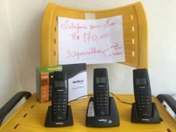 Conjunto de telefones sem fio intelbras
